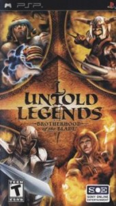 Download Untold Legends Brotherhood of the Blade iso