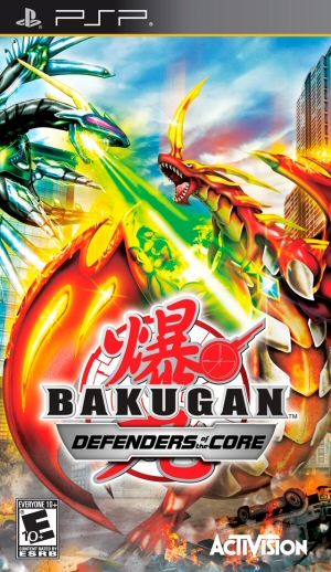 Download Bakugan Battle Brawlers: Defenders of the Core  iso
