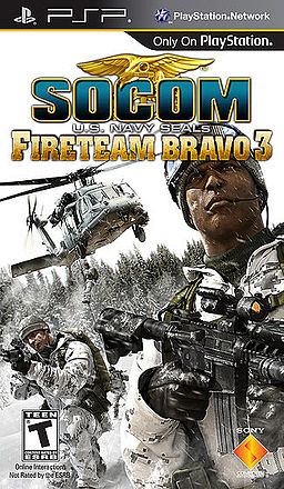 Download SOCOM: U.S. Navy SEALs Fireteam Bravo 3 iso