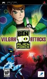 Download Ben 10: Alien Force Vilgax Attacks iso