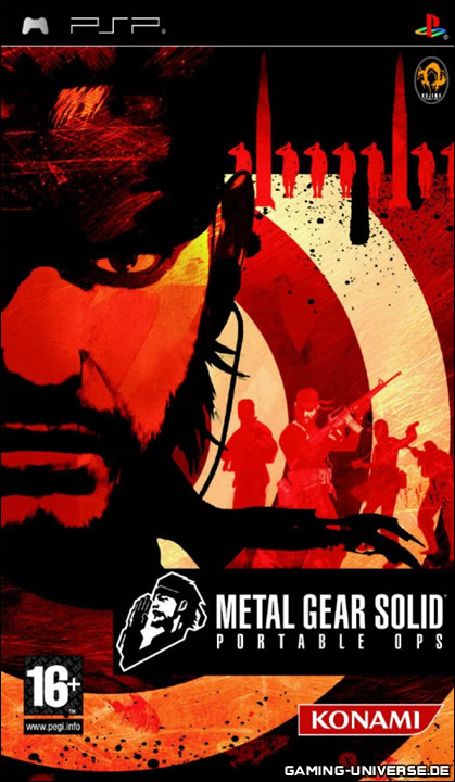 Donload Metal Gear Solid Portable Ops - PSP Game Direct Link