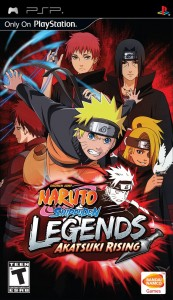 Download Naruto Shippuden: Legends: Akatsuki Rising iso