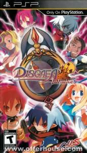 Disgaea Infinite - U.S Ver (PSP) cover front 1