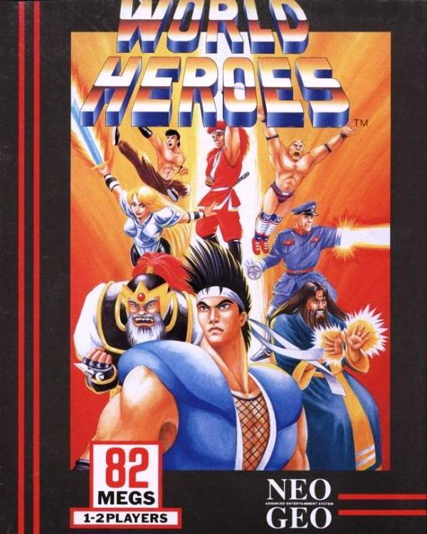 Download World Heroes  iso