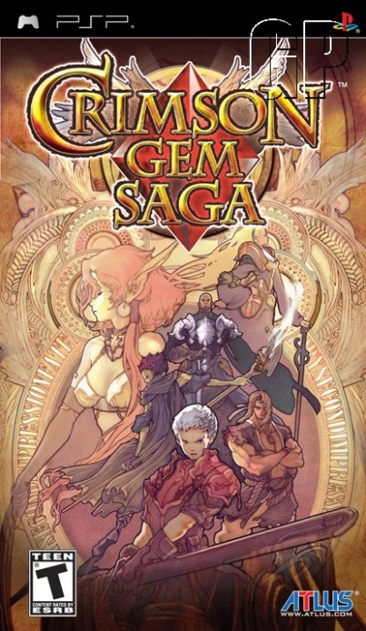 Download Crimson Gem Saga Torrent PSP 2008