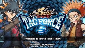 Yu Gi Oh 5Ds Tag Force 5 PSP USA
